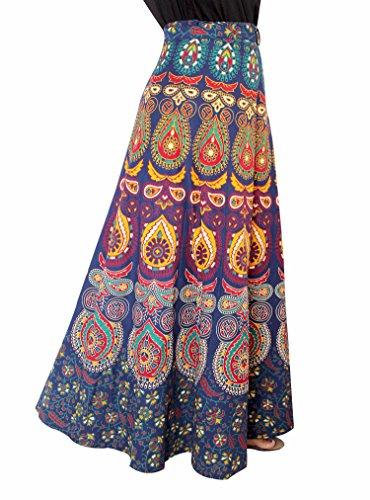 Wear Wrap Around Skirt (The StoreKing Warp Around Skirt Printed Casual Wear - Free Size)
