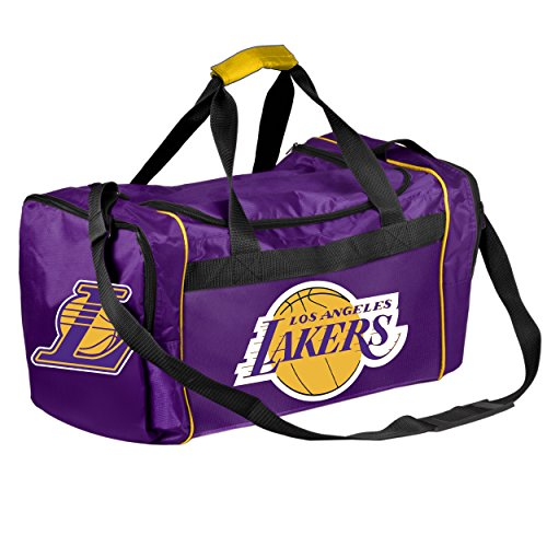 FOCO Los Angeles Lakers Core Duffel Bag by FOCO