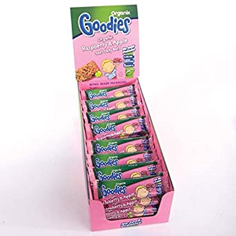 Organix | Raspberry & Apple Soft Oaty | 2 x 6 x 6 x 30g