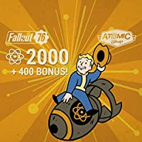 Fallout 76: 2000 (+400 Bonus) Atoms   - PS4 [Digital Code]