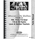 New Parts Manual Made for Minneapolis Moline Tractor Model 112