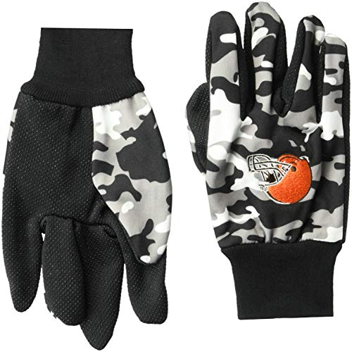 Brown Camouflage Glove - Cleveland Browns Utility Glove - Camouflage