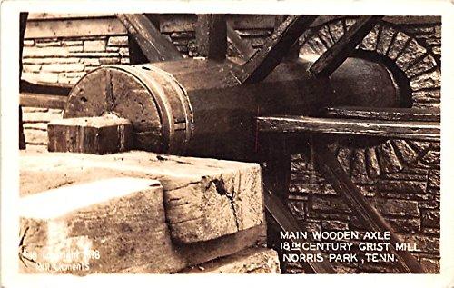 Main Axle - Main Wooden Axle Norris Park, Tennessee postcard