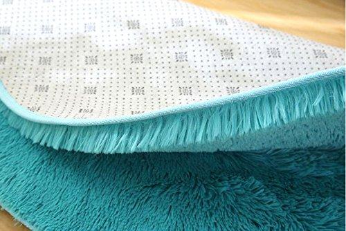 Tappeto Morbido Salotto : Xinyukeji tappeto rotondo tappeto peloso morbido e antiscivolo a