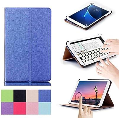 Caso Galaxy Tab A 7.0, [Soporte multifunción] Panel Atrás a ...