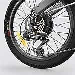 Fangteke-Biciclette-elettriche-Bici-Pieghevoli-per-ciclomotori-per-Adulti-3-modalita-di-Guida-HIMO-C20-25-kmh-Motore-da-250-W-capacita-di-carico-100-kg-Bianca