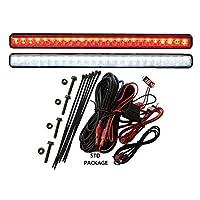 TecScan Golf Cart LED Light Kit LiTESeasy Standard W/Built-in Meter