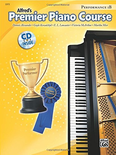 Premier Piano Course Performance, Bk 1B: Book & - Center Lancaster City