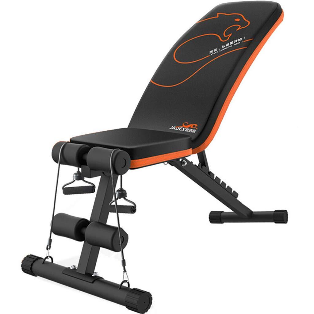 Mariny 折りたたみ式ダンベルベンチ、訓練レベル仰臥位ボード、多機能家庭用腰掛けボード、スポーツフィットネス機器   B07QQSF8N4