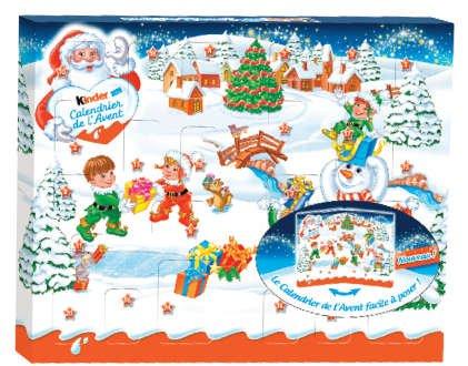 Kinder Chocolate Advent Calendar New Season