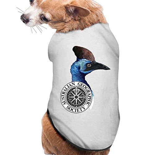 Dog Clothes Cassowary Dog Jackets Jackets Soft And Warm 100% Polyester Fiber Dog Sweater Dog Shirt - 50a Costume