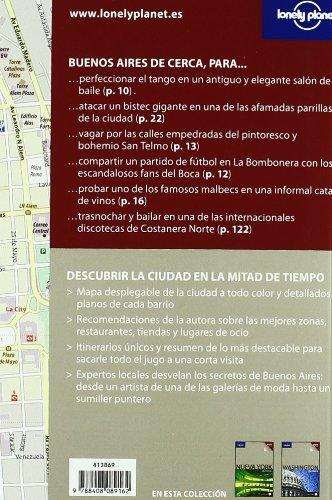 Buenos Aires De cerca 1 Guías De cerca Lonely Planet: Amazon ...