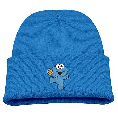 Children's Television Show Nom Nom Nom Cookie Monster Kids Skullies And Beanies RoyalBlue (Cookie Monster Headband)