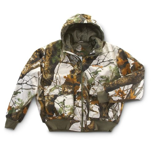 Scent-Lok Men's Cotton Classic Insulated Jacket,Realtree AP HD,Medium, Bags Central