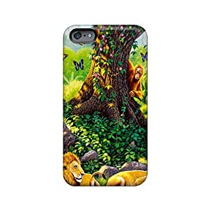 Scratch Resistant Hard Cell-phone Cases For Iphone 6plus With Provide Private Custom Colorful The Jungle Book Series TimeaJoyce