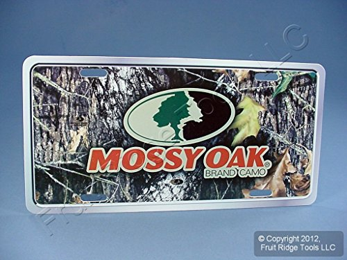 (Mossy Oak Brand Camo MLP2401 Auto Truck Car SUV Camouflage Hunting License Plate)