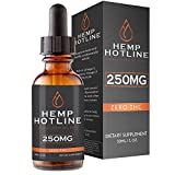 Hemp Oil Drops – All-Natural Ingredients – Delicious Peppermint Flavor – Contains Omega 3 & 6 Fatty Acids – Promotes General Health and Well-Being – One Month Supply – Hemp Hotline Review