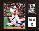 "MLB Boston Red Sox Mookie Betts Player Plaque, Brown, 12"" x 15"""