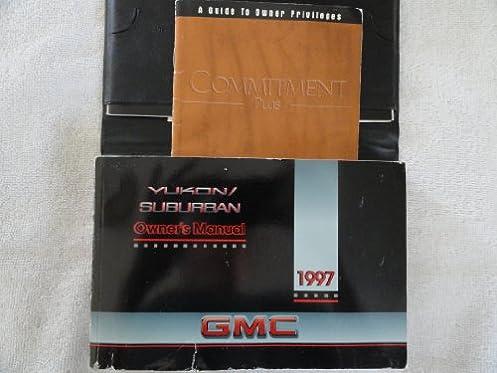 1997 gmc yukon chevy suburban owners manual general motors rh amazon com 1997 GMC Suburban 1999 GMC Suburban