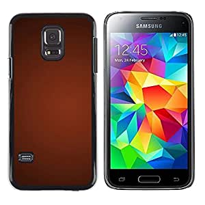 iKiki Tech / Estuche rígido - Texture Gradient Red - Samsung Galaxy S5 Mini, SM-G800, NOT S5 REGULAR!