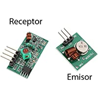 Módulo Emisor y Receptor RF 433MHz Inalambrico control