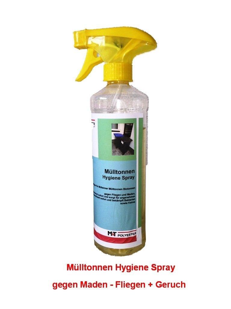 TOP Mülltonnen Hygiene Spray 1 x 500 ml Geruch Maden Fliegen ...