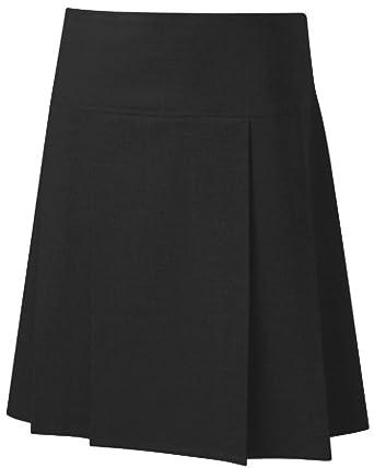 25fcff8c8b School-Uniform Senior Drop Waist Pleated School Skirt Girls Summer ...