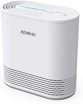 Renpho True HEPA Filter Air Purifier for Home Allergies and Pets
