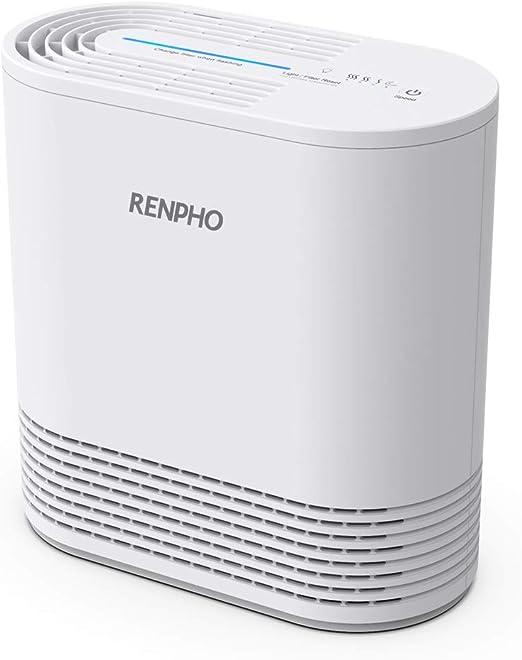 Renpho purificador de aire para alergias y mascotas en el hogar ...