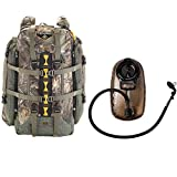 Tenzing TZ 4000 Big Game Hunting Day Pack Backpack (Realtree Max Xtra Camo) with 2.0L Hydration Reservoir