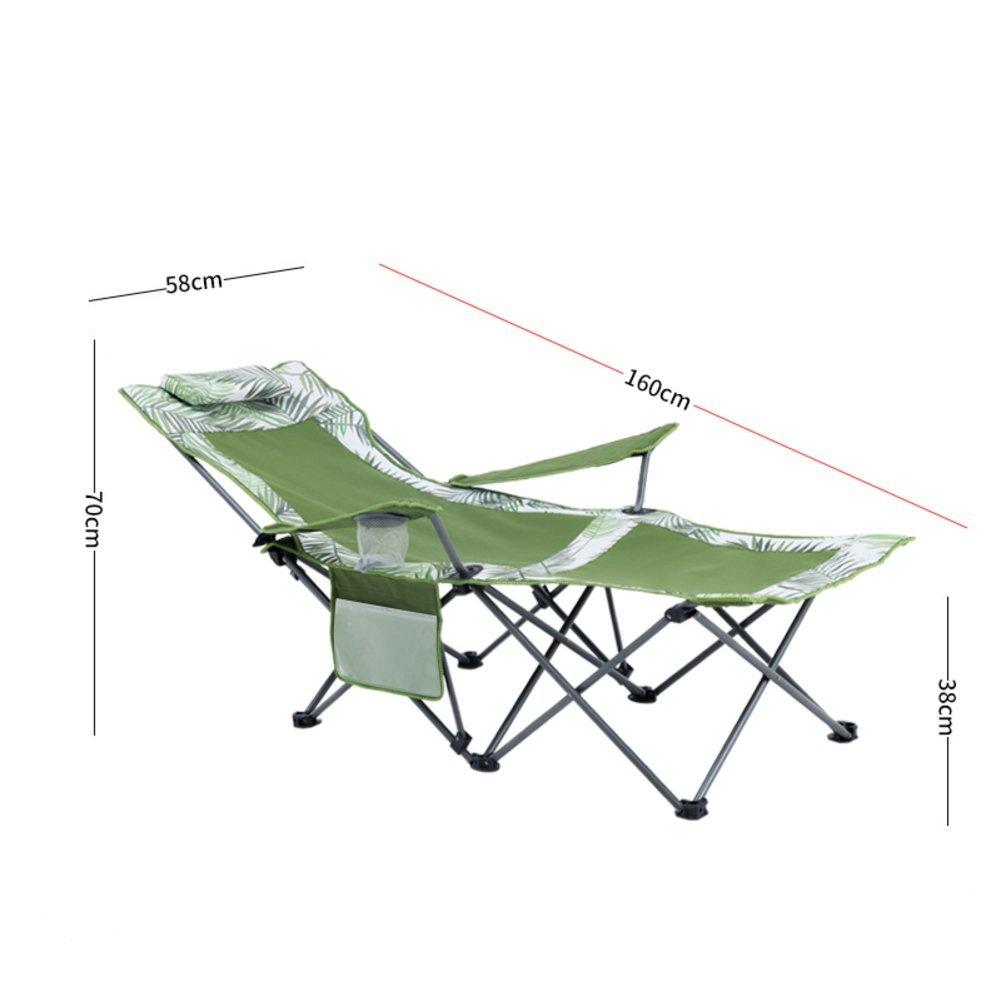 C  LELI Plein Air Pliant Double Usage Chaises,Portante élevée,Dossier Réglable pour Camping Randonnée Pêche-K