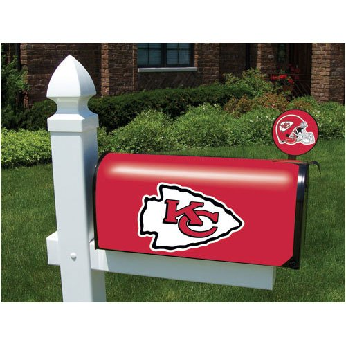 Cover Mailbox Team (Party Animal NFL Chiefs Mailbox Cover)