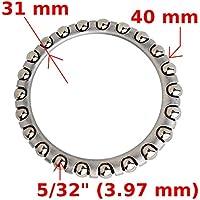 ALU Spacer a Head Vélo Potence distance Bague 1 1//8 pouces Taux 5 mm Noir
