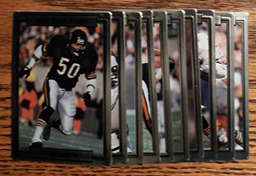 (1989 Action Packed Test/Prototype Set - 10-Card Chicago Bears Team Set)