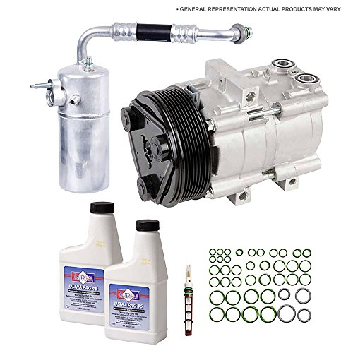 (OEM AC Compressor w/A/C Repair Kit For Chevy Camaro 3.6L 2010-2015 - BuyAutoParts 60-84053RN New)