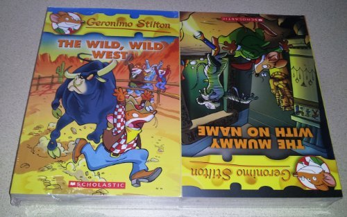Geronimo Stilton 10 Book Collection Set Vol 21-30 (21 The Wild Wild West; 22 The Secret of Cacklefur Castle; 23 Valentine's Day Disaster; 24 Field Trip to Niagara Falls; 25 The Search for Sunken Treasure; 26 The Mummy With No Name; 27 The Christmas Toy Factory; 28 Wedding Crasher; 29 Down and Out Down Under; 30 The Mouse Island Marathon)