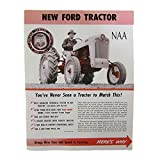 Sales Brochure for Ford Tractor NAA 1953 1954 1955 53 54 55 Jubilee