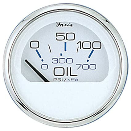 Faria 13802 Chesapeake 80PSI Oil Pressure Gauge 3570473