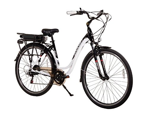 "Dynacraft 700C 36V 7 Speed Cityscape E-Bike, 19""/One Size, B"