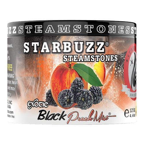 Black Peach Mist Steam Stones Shisha Flavour