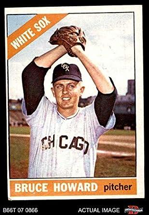 Amazoncom 1966 Topps 281 Bruce Howard Chicago White Sox