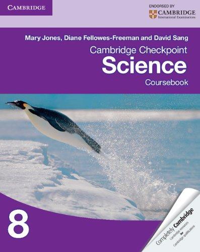 Cambridge Checkpoint Science Coursebook 8 (Cambridge International Examinations)