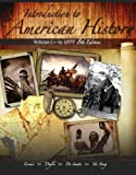 Introduction to American History (2 Volumes)