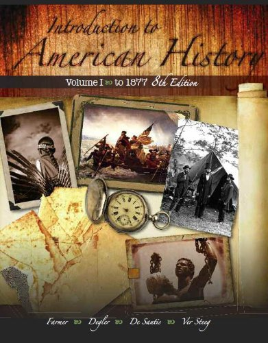 Intro.To American History,Vol.I