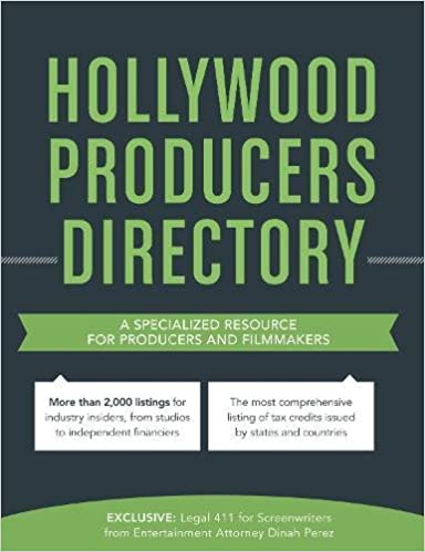 Buy Hollywood Producers Directory: A comprehensive listing of