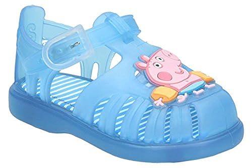 720516b44 CHANCLA AGUA CANGREJERA GEORGE PEPPA PIG - TALLA 19  Amazon.es  Zapatos y  complementos