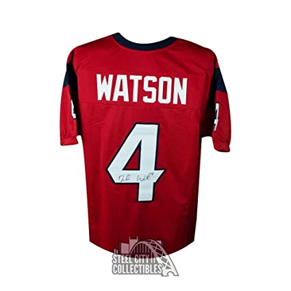 f80fa8e2 Deshaun Watson Autographed Signed Autograph Houston Texans Custom ...