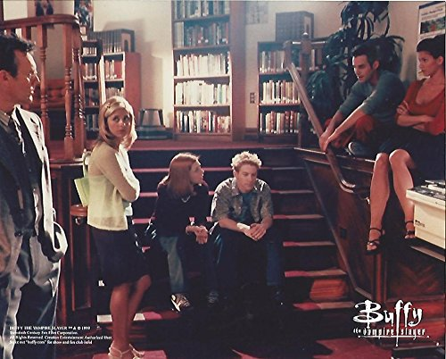 Buffy The Vampire Slayer Cast Sarah Michelle Gellar, Seth Green, Charisma Carpenter 8x10 inch Photo