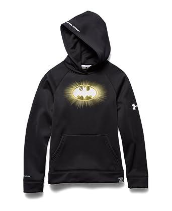 32abde57 Boy's Under Armour Alter Ego Batman Glow-In-The-Dark Storm Hoodie ...