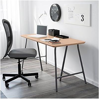 Ikea HILVERLERBERG Table, bamboo